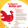 Turkey Burn-Off Challenge poster