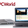 PC World logo and laptop image for this story